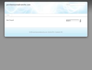 percheesurmabranche.com screenshot