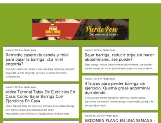 perderpesodeformanatural.com-tv.es screenshot