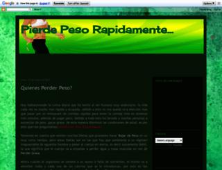 perderpesorapidamentetips.blogspot.com screenshot