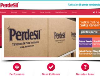 perdesil.com.tr screenshot