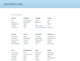 perdidao.org screenshot