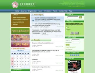perdossi.or.id screenshot