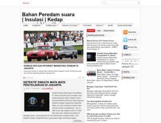 peredamsuarainsulasi.blogspot.com screenshot