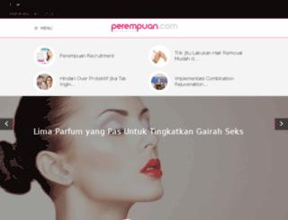 perempuan.com screenshot
