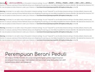 perempuanpolitik.com screenshot