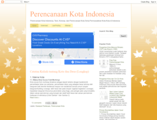 perencanaankota.blogspot.com screenshot