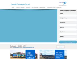 perennial.co.in screenshot