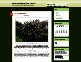 perennialgardener.wordpress.com screenshot