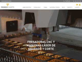 perezcamps.com screenshot