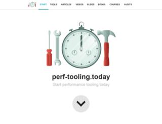 perf-tooling.today screenshot