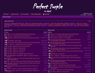 perfect-purple.com screenshot