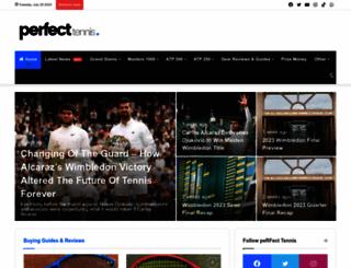 perfect-tennis.com screenshot