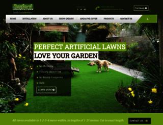 perfectartificiallawns.com screenshot
