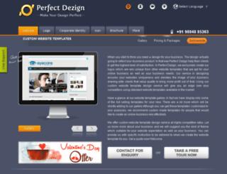 perfectdezign.com screenshot