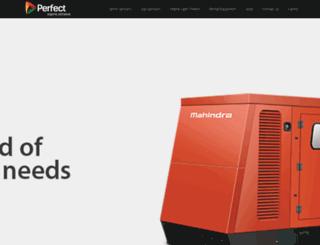 perfectgenerators.com screenshot