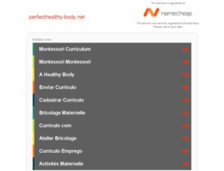 perfecthealthy-body.net screenshot