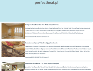 perfectheat.pl screenshot