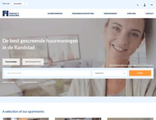 perfecthousing.nl screenshot