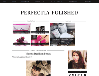 perfectly-polished-nails.com screenshot