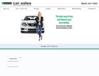 perfectpartnership.enterprise.com screenshot