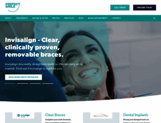 perfectsmile-dental.com screenshot
