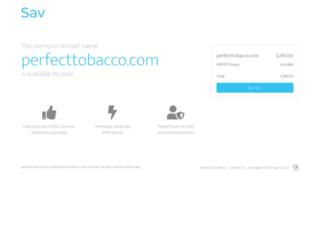 perfecttobacco.com screenshot