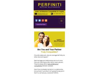 perfiniti.com screenshot