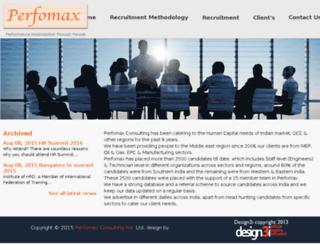 perfomaxconsulting.com screenshot