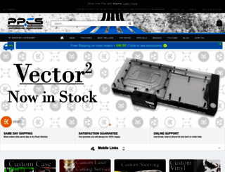 performance-pcs.com screenshot