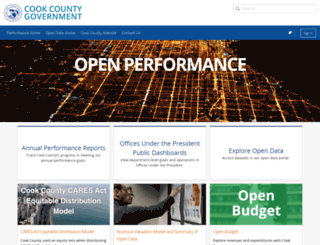 performance.cookcountyil.gov screenshot