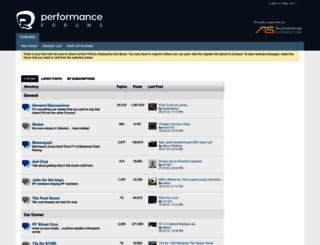 performanceforums.com screenshot