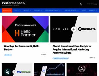 performancein.com screenshot