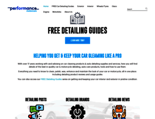 performancemotorcare.com screenshot