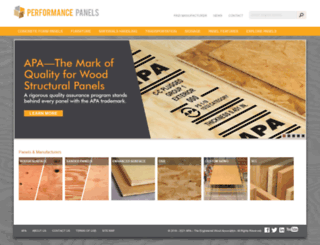 performancepanels.com screenshot