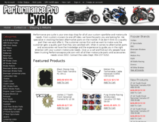 performanceprocycle.com screenshot