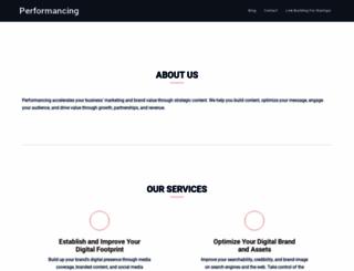 performancing.com screenshot