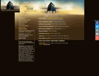 performhajj.com screenshot