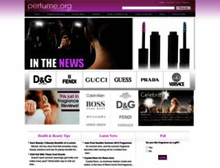 perfume.org screenshot