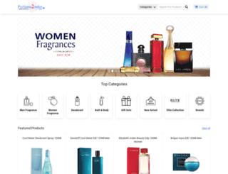 perfume2order.com screenshot