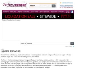perfumecenter.com screenshot