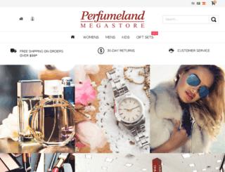 perfumeland.com screenshot