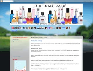 perfumerack.blogspot.com screenshot