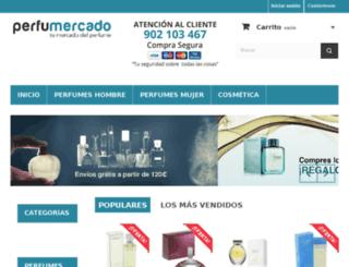 perfumercado.com screenshot