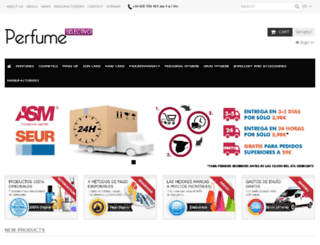 perfumeselectivo.com screenshot