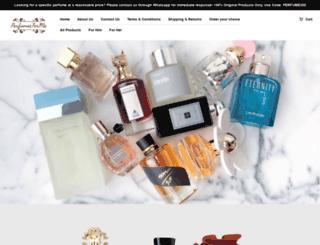 perfumesforme.com screenshot