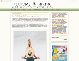 perfumeshrine.blogspot.ca screenshot