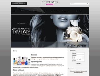perfumesluxor.com screenshot