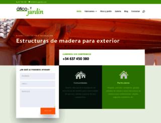 pergolasvalencia.com screenshot