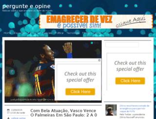 pergunteeopine.blogspot.com.br screenshot