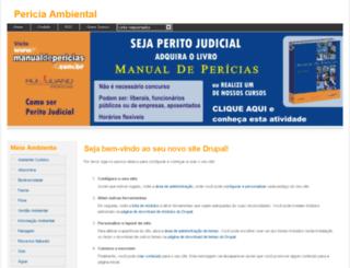 periciaambiental.pesquisador.com.br screenshot